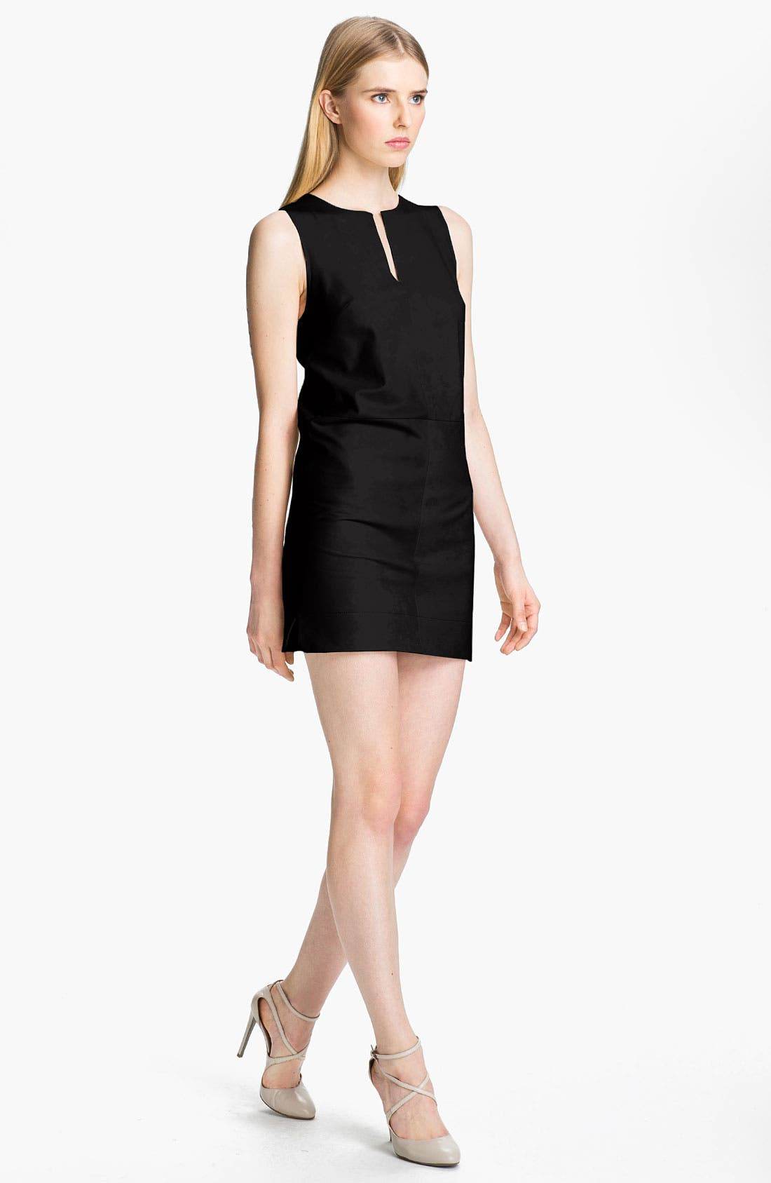 Alternate Image 1 Selected - Robert Rodriguez Leather Shift Dress