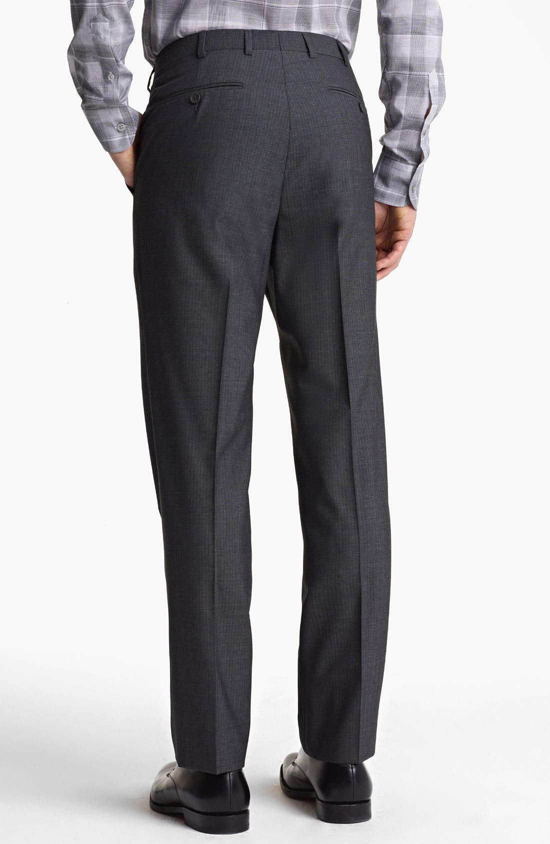 Alternate Image 5  - Z Zegna Trim Fit Wool Suit