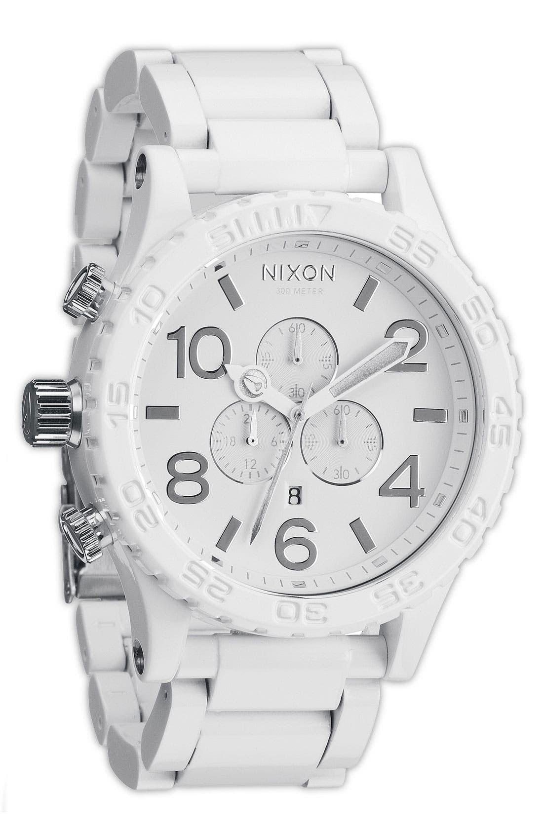 Alternate Image 1 Selected - Nixon 'The 51-30 Chrono Chromacoat' Watch
