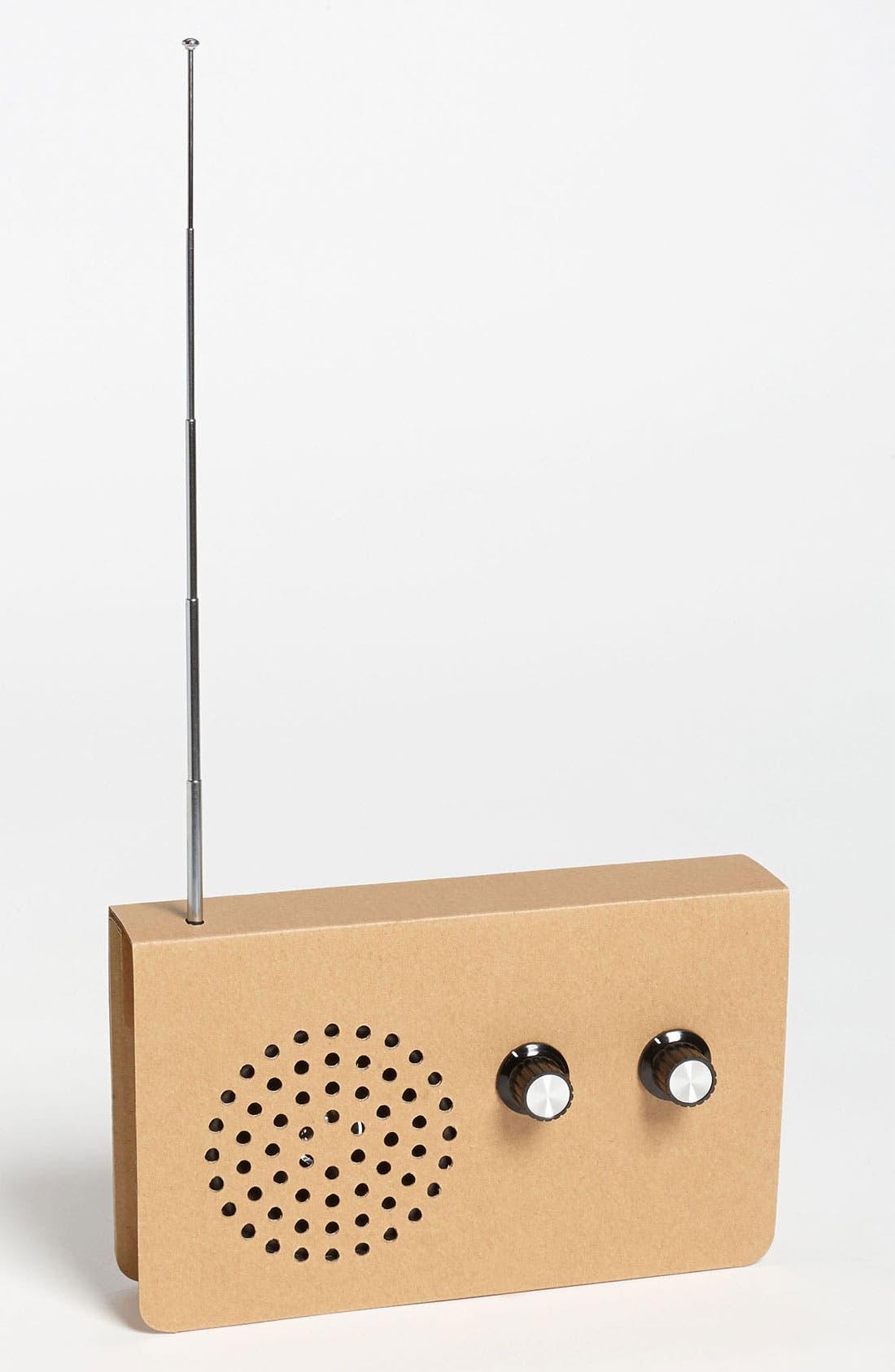 Main Image - Cardboard MP3 Player FM Radio
