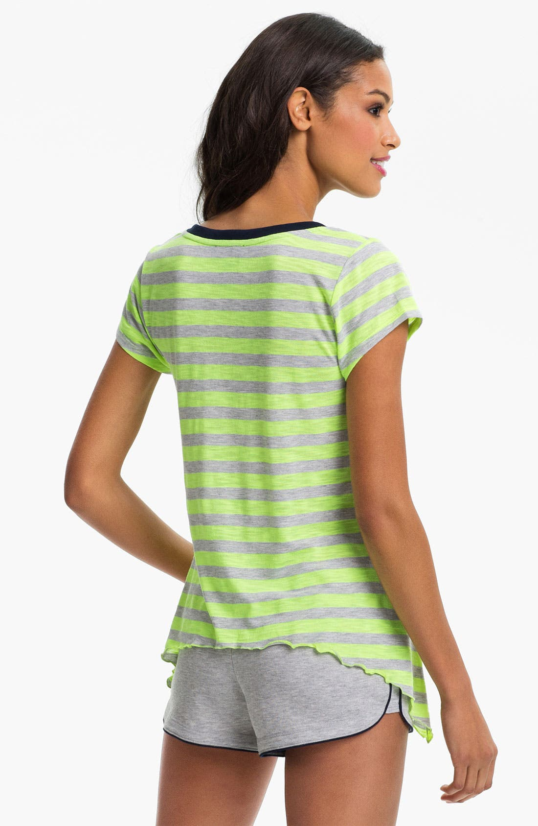 Alternate Image 2  - Steve Madden 'Earn Your Stripes' Lounge Tee
