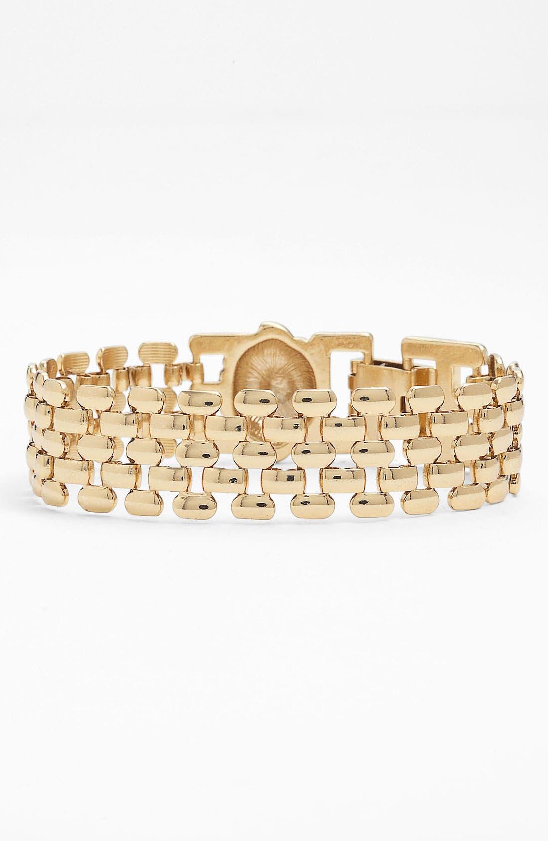 Alternate Image 1 Selected - Anne Klein Lion's Head Bracelet