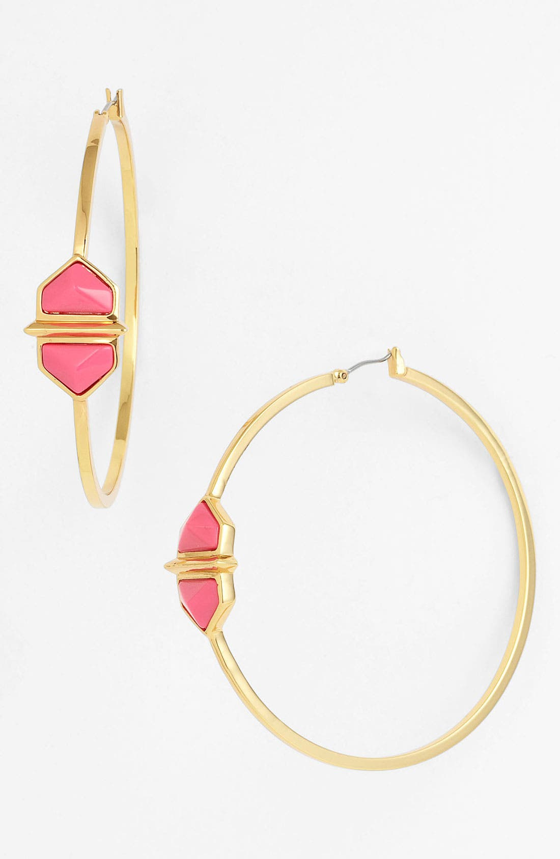 Alternate Image 1 Selected - Vince Camuto 'Hidden Gems' Hoop Earrings