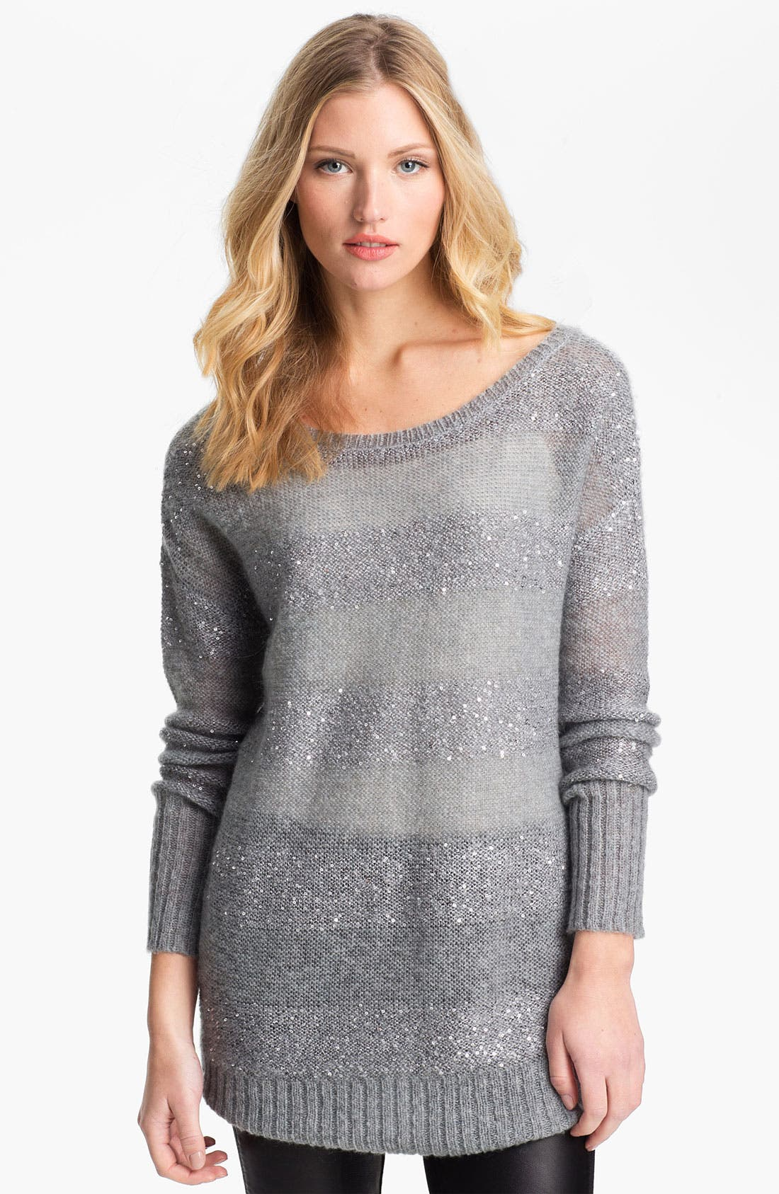 Alternate Image 1 Selected - DKNYC 'Cloud' Tunic Sweater