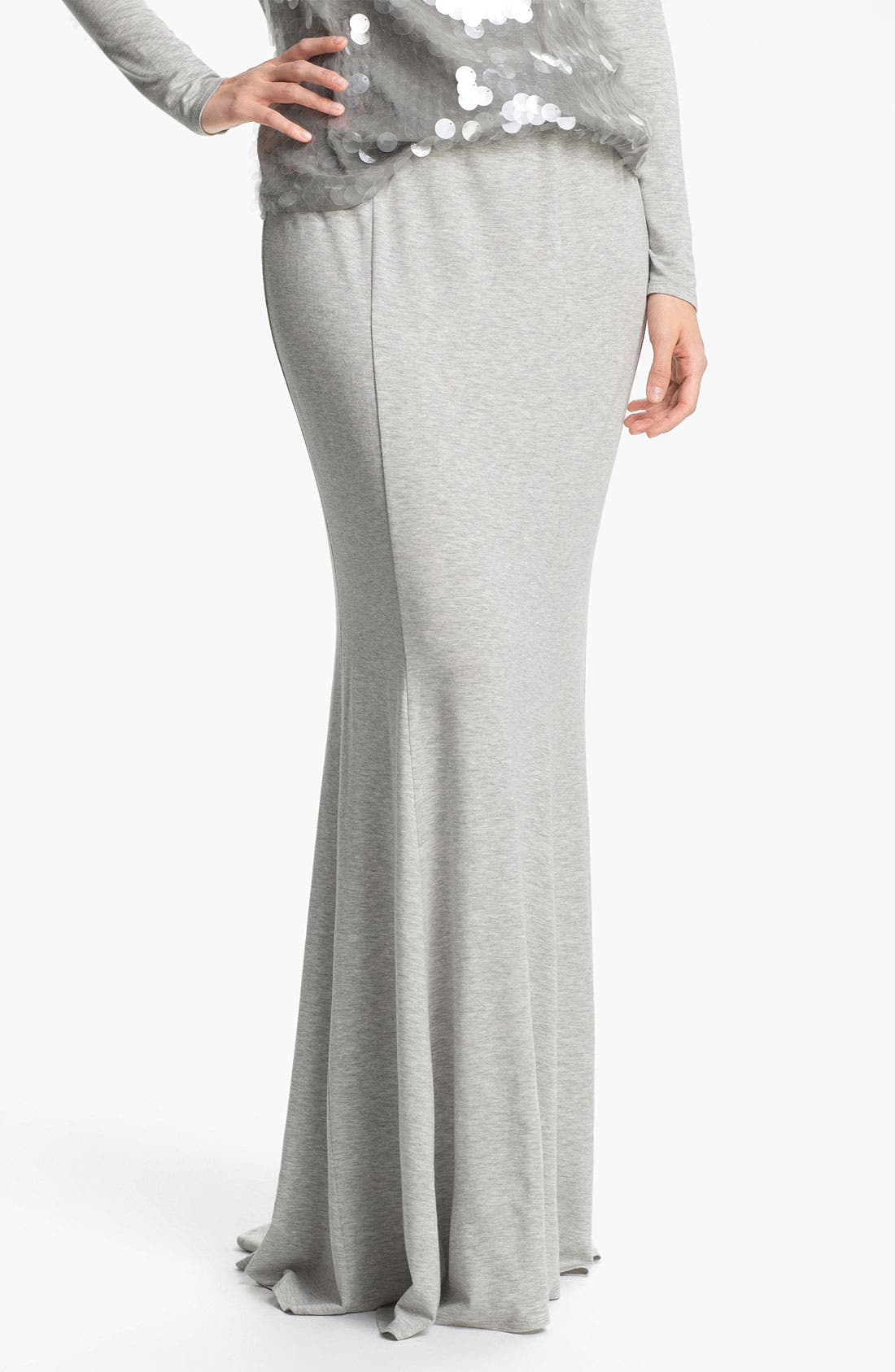 Alternate Image 1 Selected - Rachel Zoe 'Carli' Flared Maxi Skirt