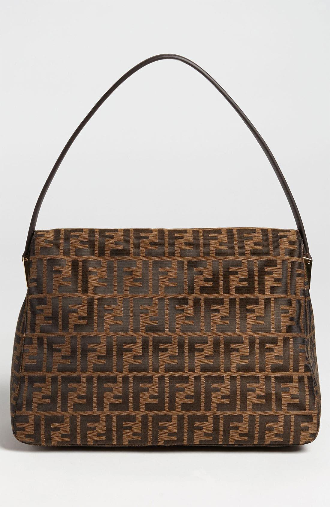 Alternate Image 4  - Fendi 'Zucca - Big Mama' Flap Bag