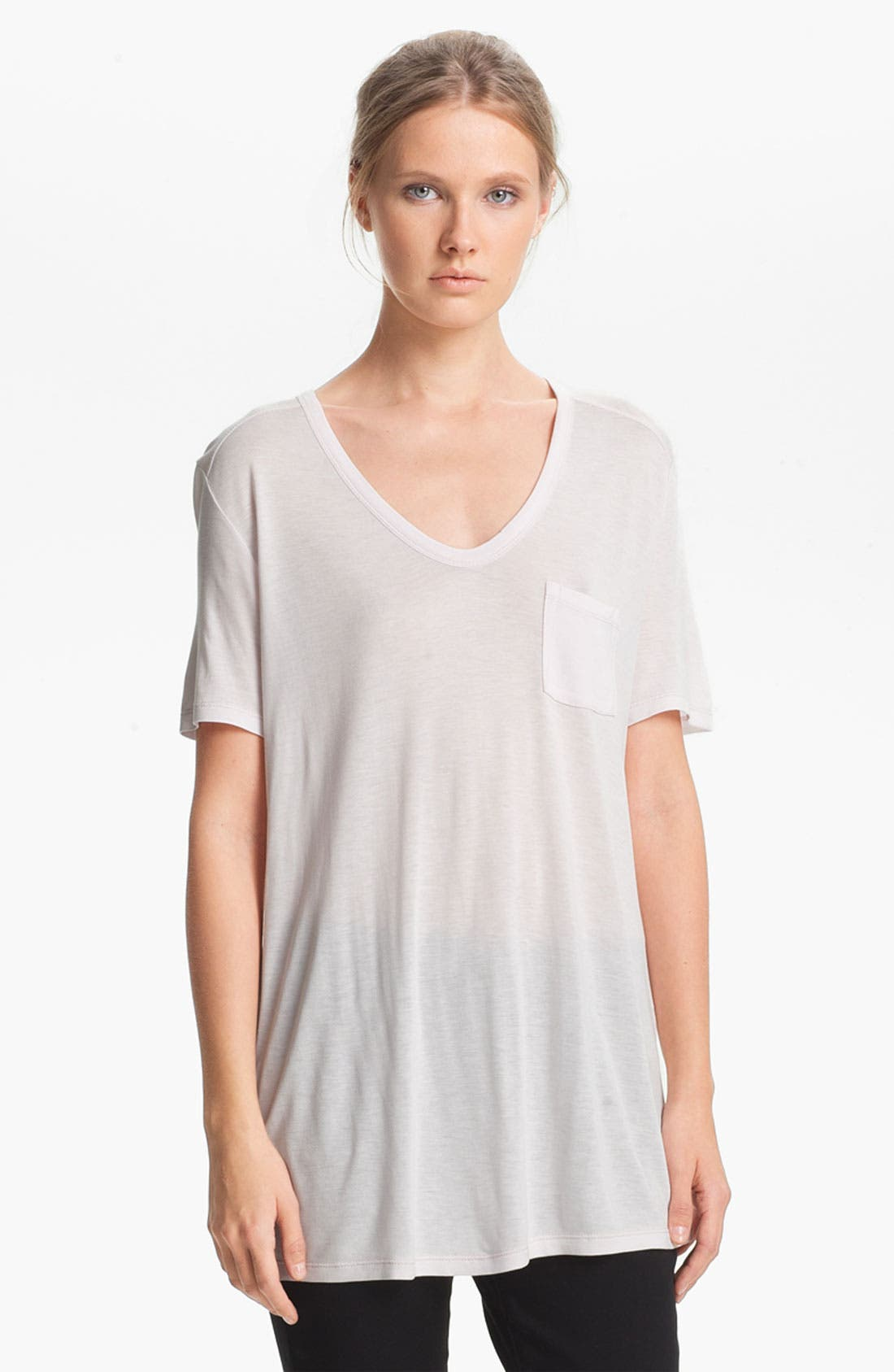 Alternate Image 2  - T by Alexander Wang Classic Pocket Tee
