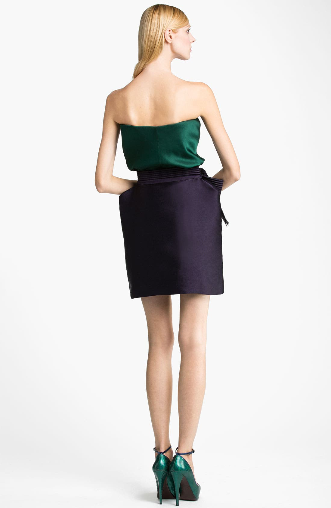 Alternate Image 3  - Lanvin Bow Detail Techno Skirt