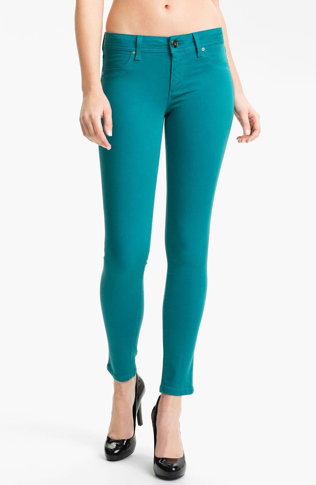 Main Image - DL1961 'Emma' X-Fit Stretch Skinny Jeans (Aruba)