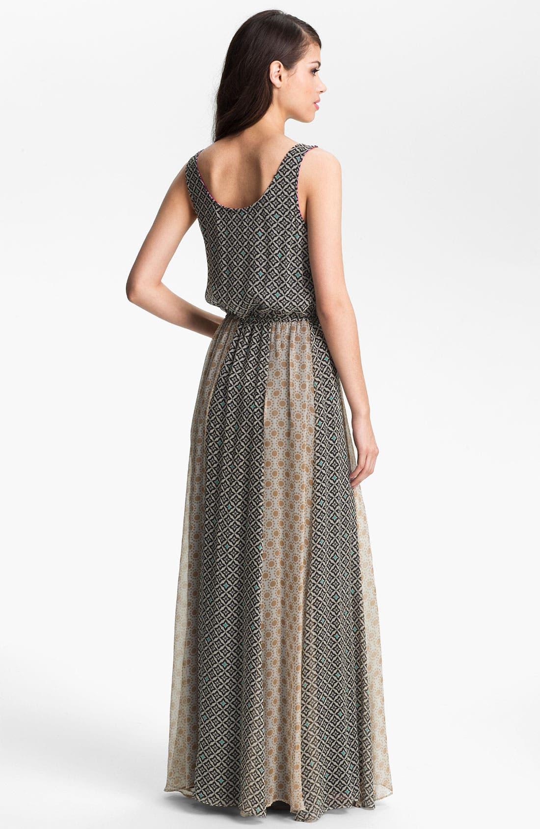 Alternate Image 2  - Ella Moss 'Sun Tile' Print Maxi Dress
