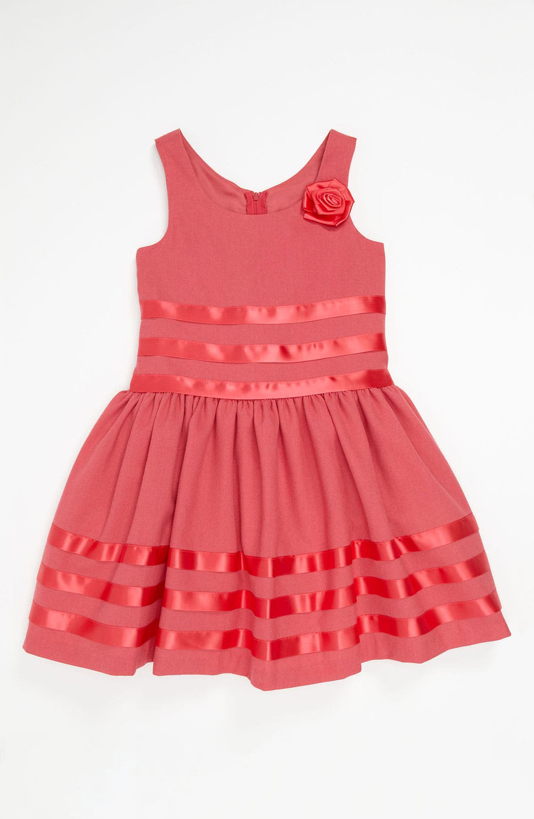 Main Image - Iris & Ivy Ribbon Trim Dress (Little Girls)