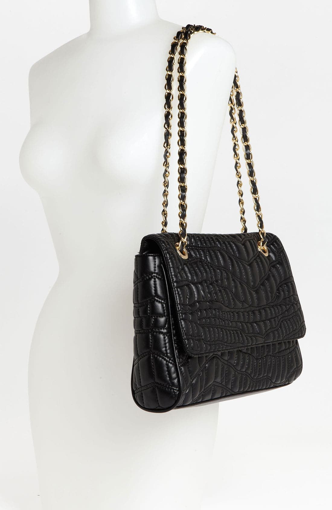 Alternate Image 2  - Cesca Quilted Shoulder Bag