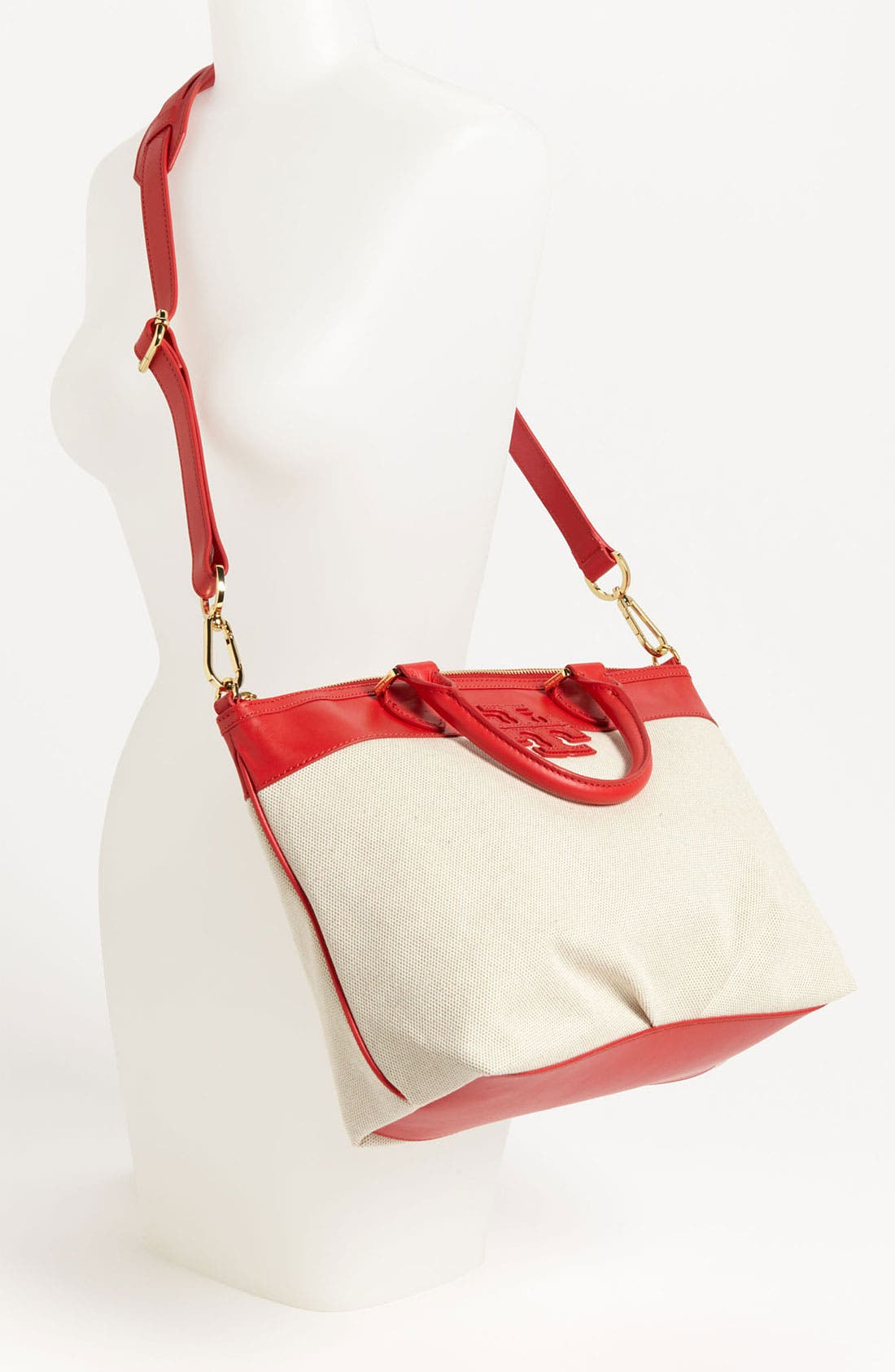 Alternate Image 2  - Tory Burch 'Stacked T - Small' Satchel