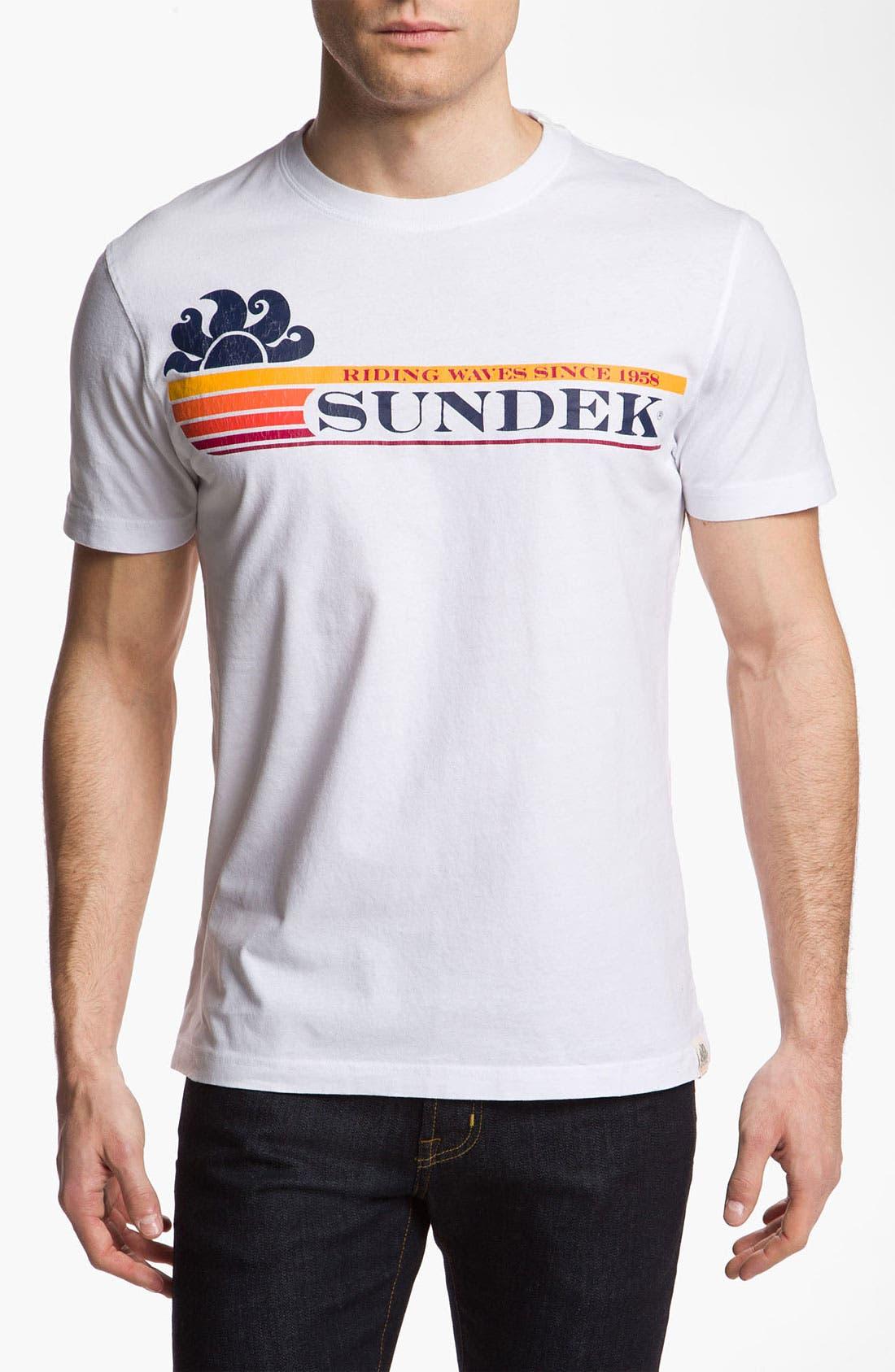 Alternate Image 1 Selected - Sundek 'Dell' T-Shirt