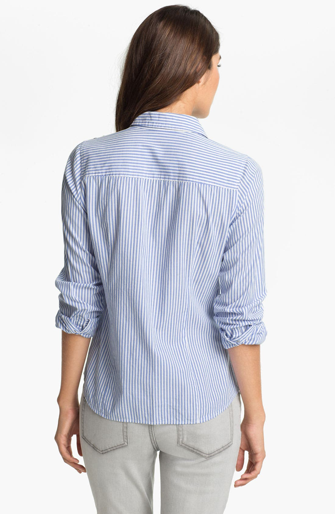 Alternate Image 2  - Two by Vince Camuto Studded Stripe Shirt