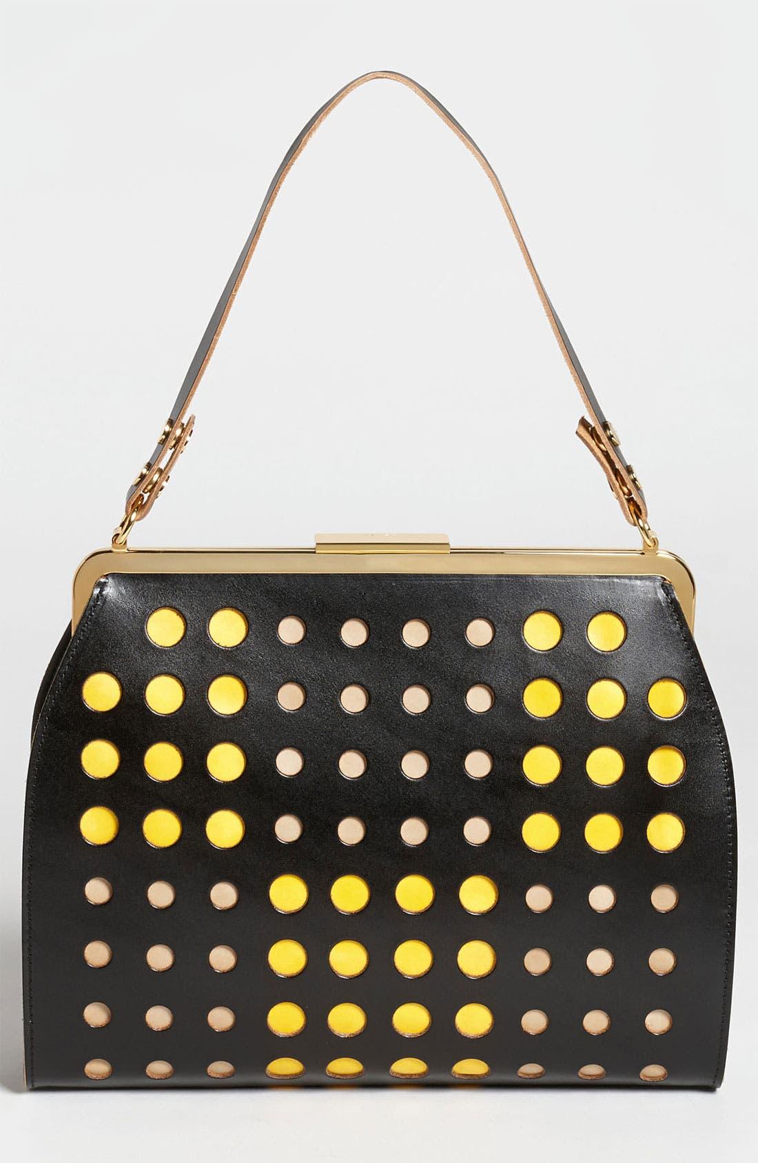 Alternate Image 3  - Marni Polka Dot Frame Handbag