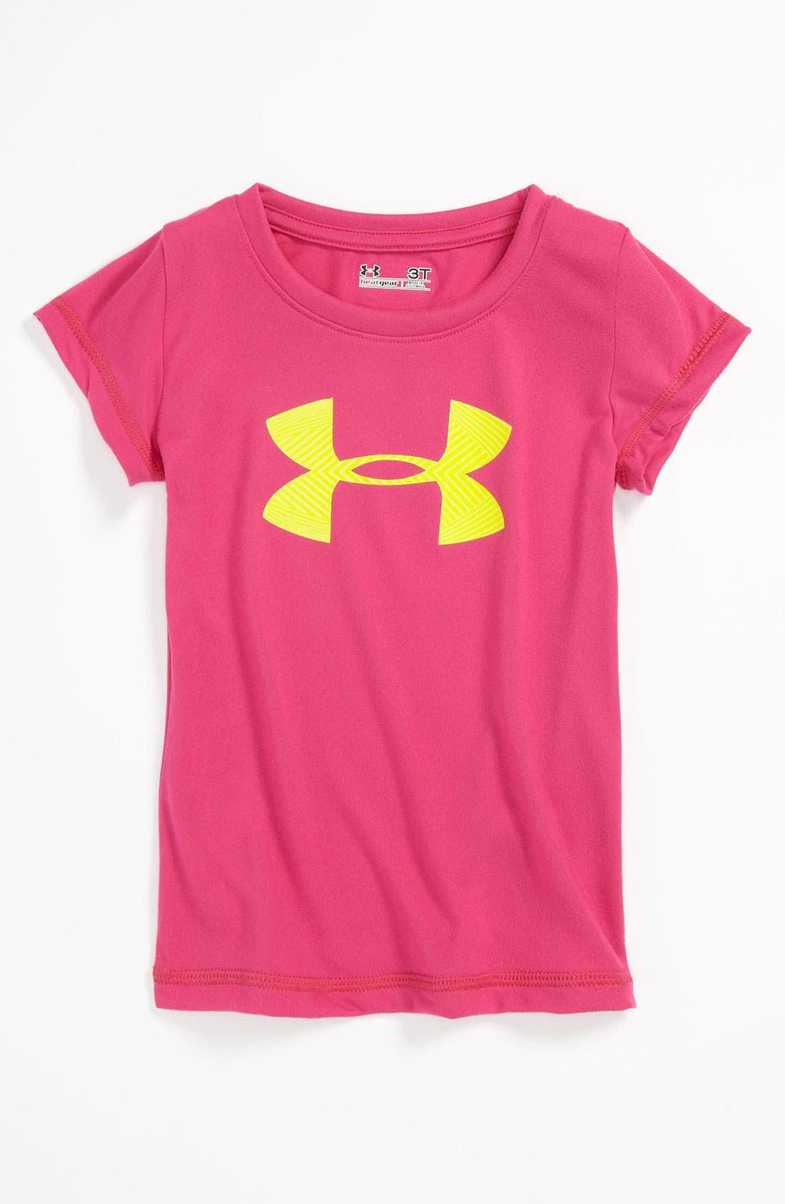 Main Image - Under Armour Logo Tee (Toddler)