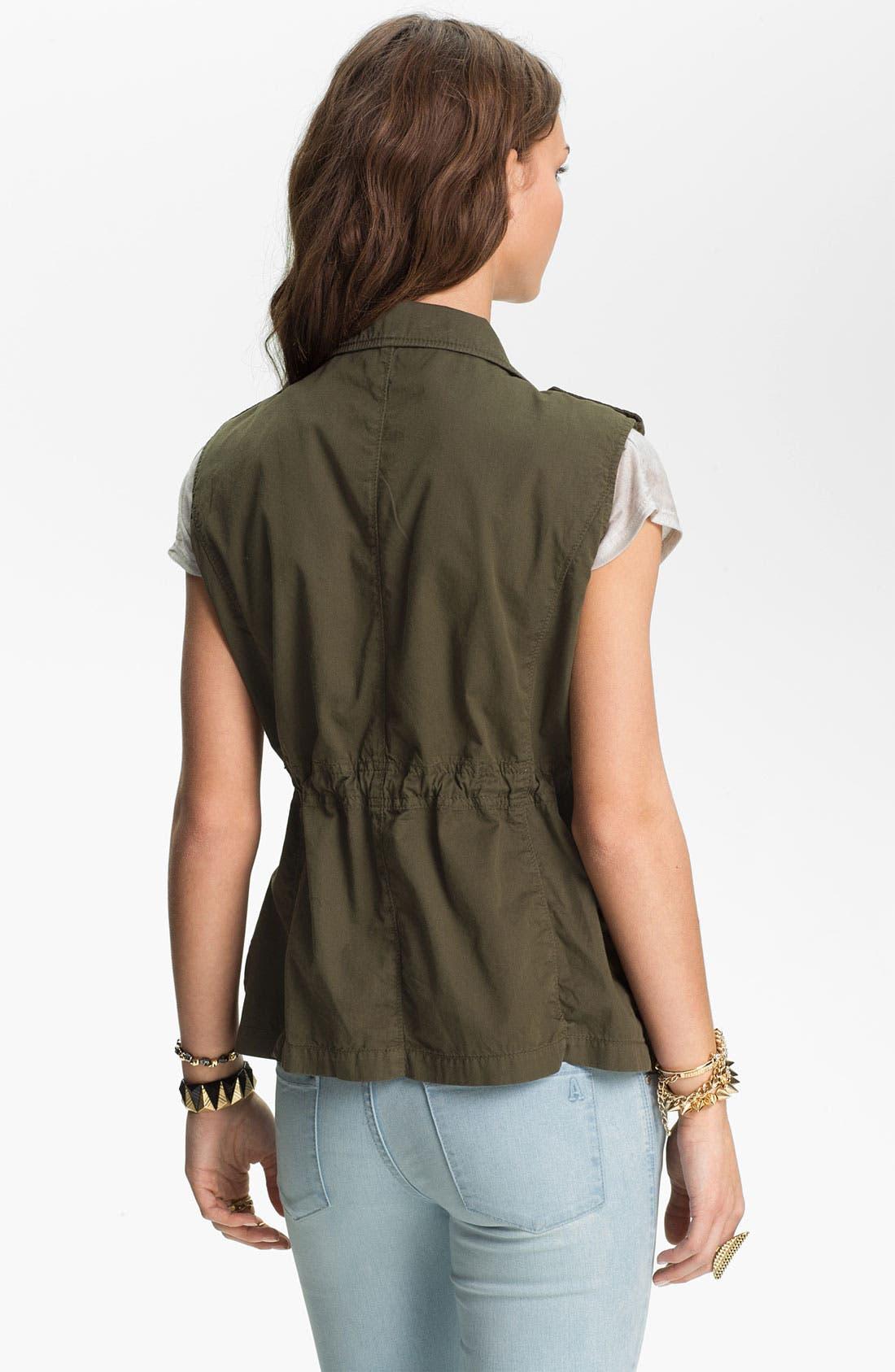 Alternate Image 2  - Angel Kiss Stud Detail Surplus Vest (Juniors)