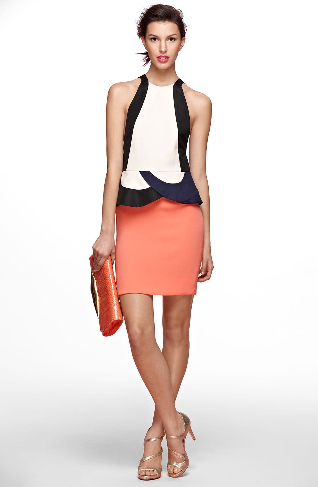 Alternate Image 1 Selected - Diane von Furstenberg 'Eon' Peplum Sheath Dress
