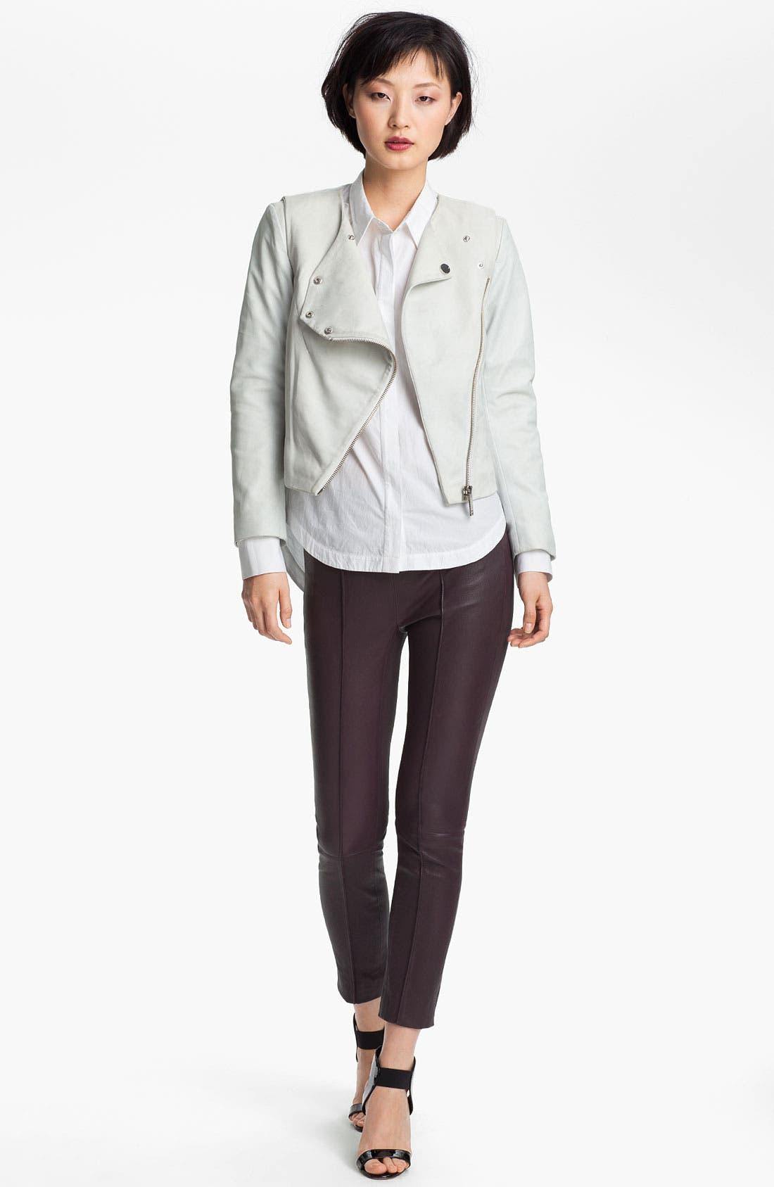 Alternate Image 2  - Twenty8Twelve 'Rae' Leather Jacket