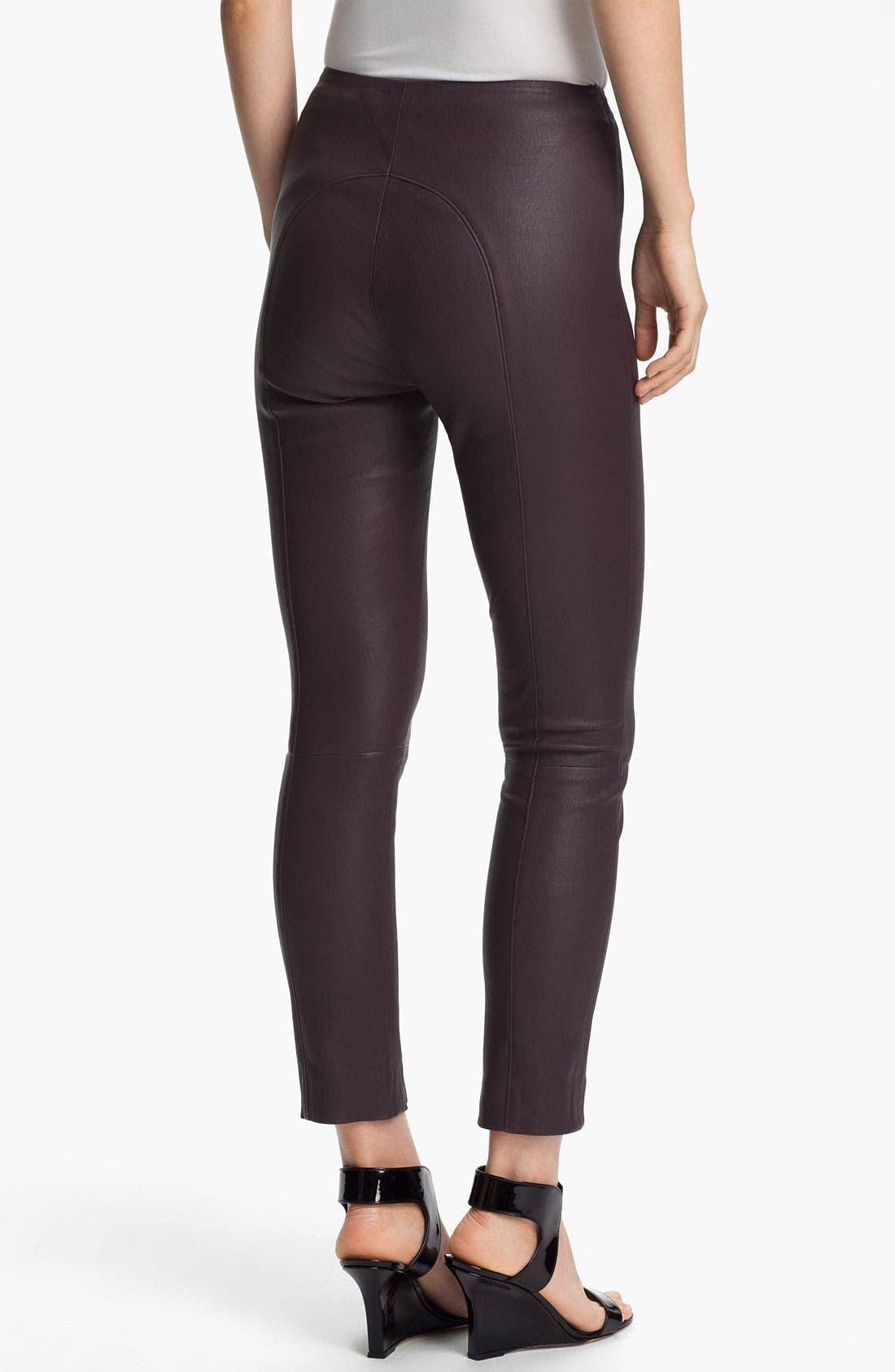 Alternate Image 2  - Twenty8Twelve 'Isiadore' Stretch Leather Pants