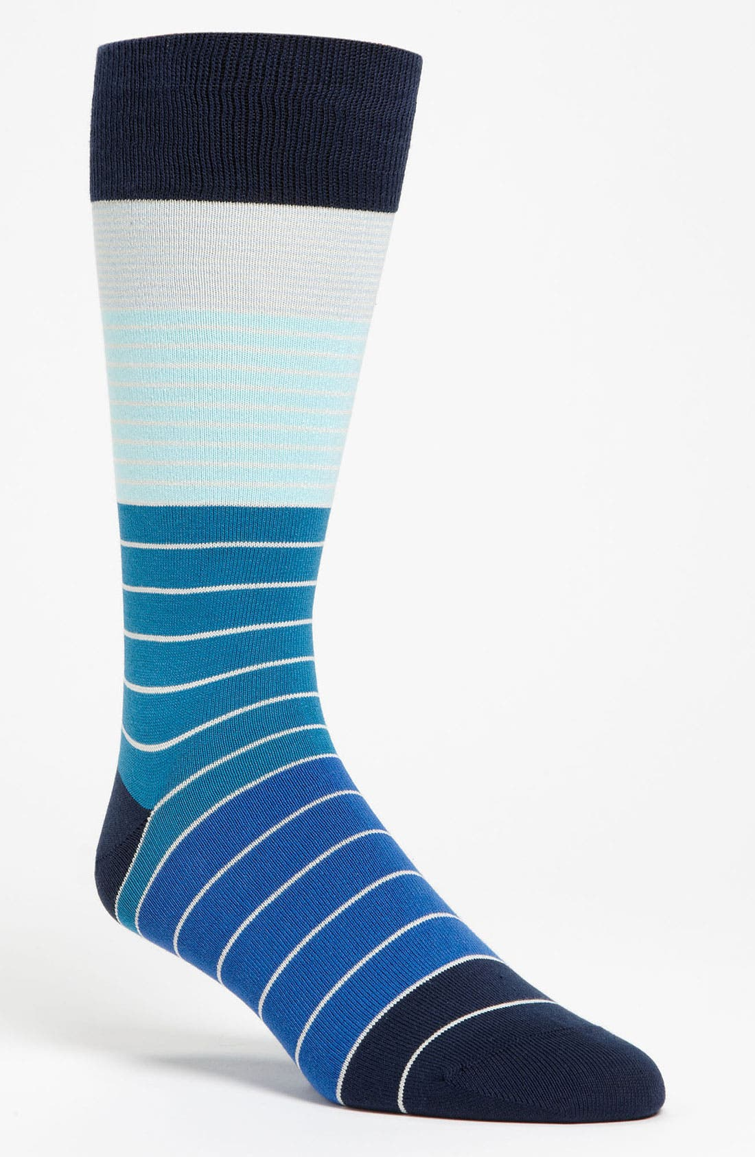 Alternate Image 1 Selected - Paul Smith Accessories Colorblock Stripe Socks