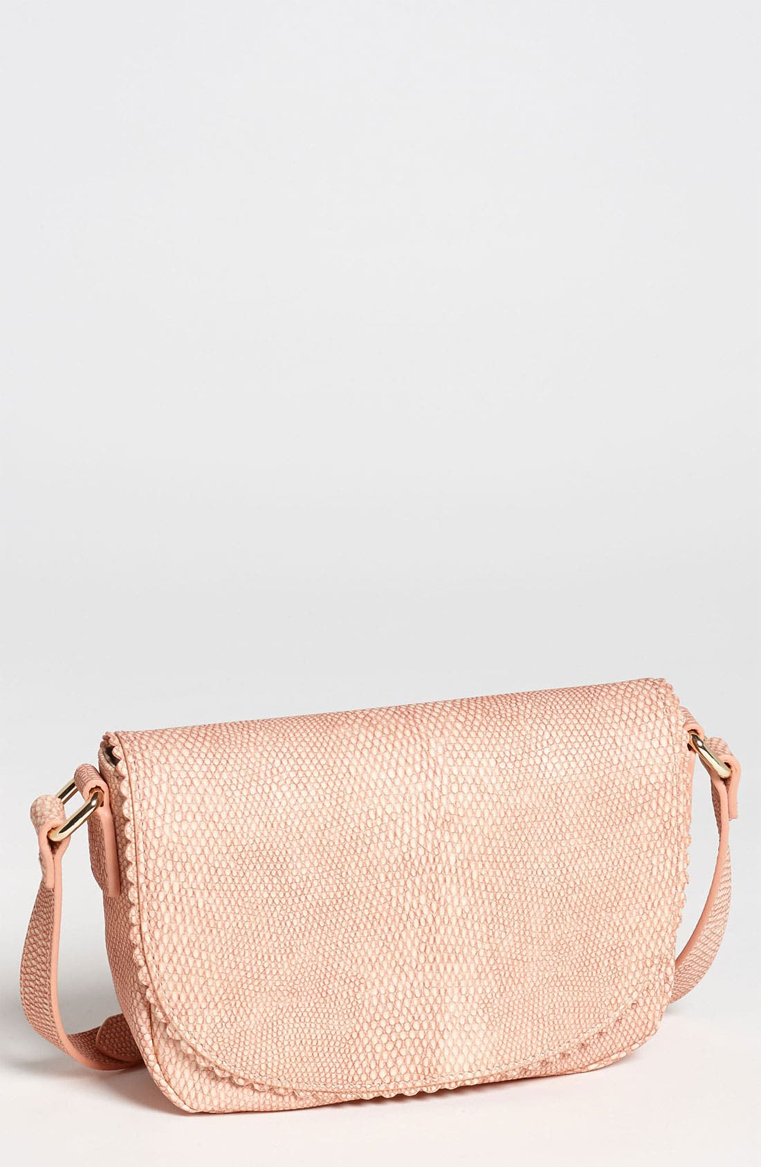 Main Image - Halogen® 'Layla' Lizard Embossed Crossbody Bag