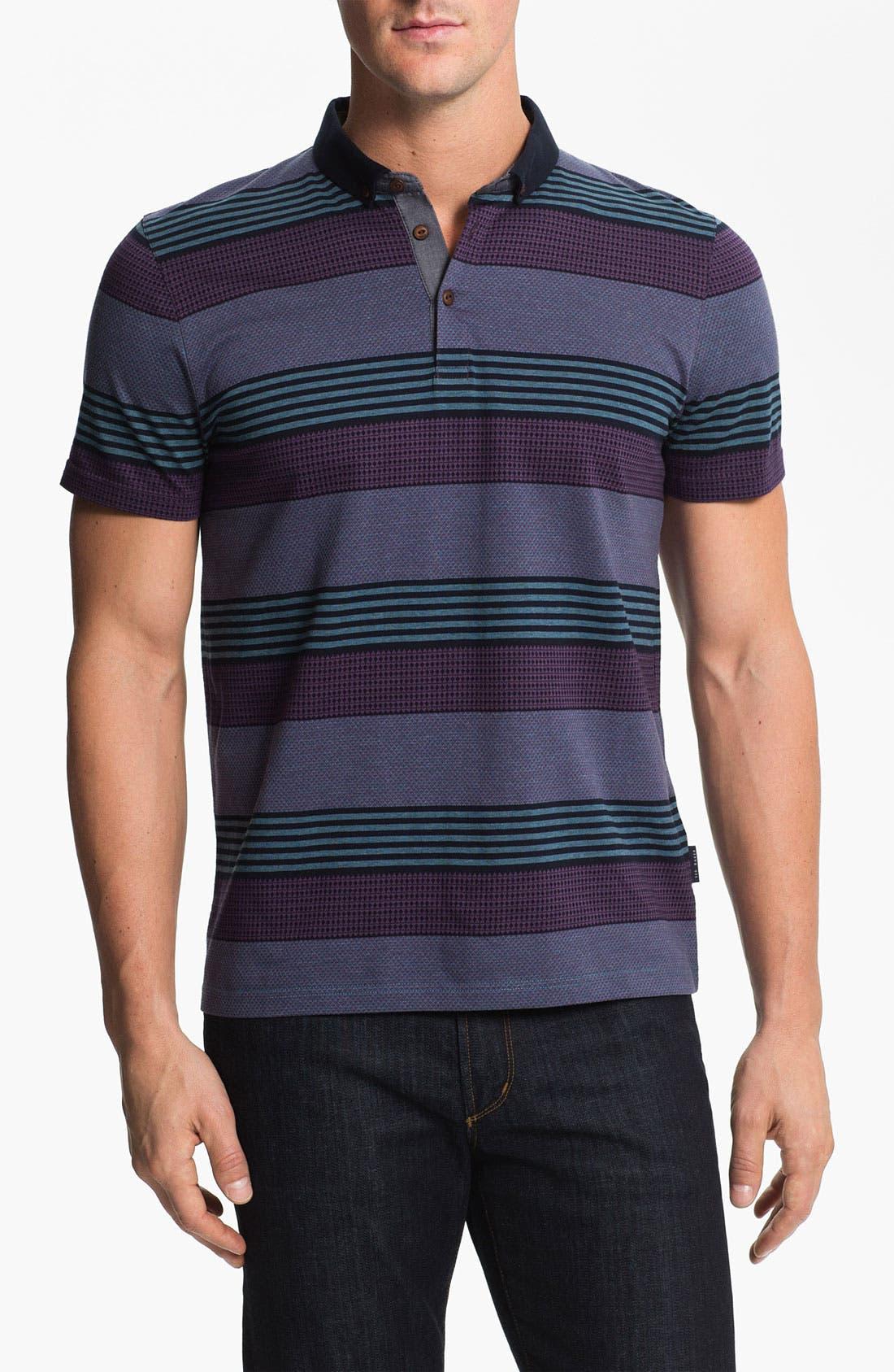 'Dontgo' Polo,                         Main,                         color, Teal