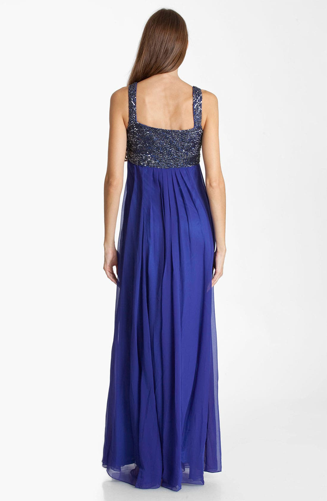 Alternate Image 2  - JS Collection Beaded Chiffon Gown