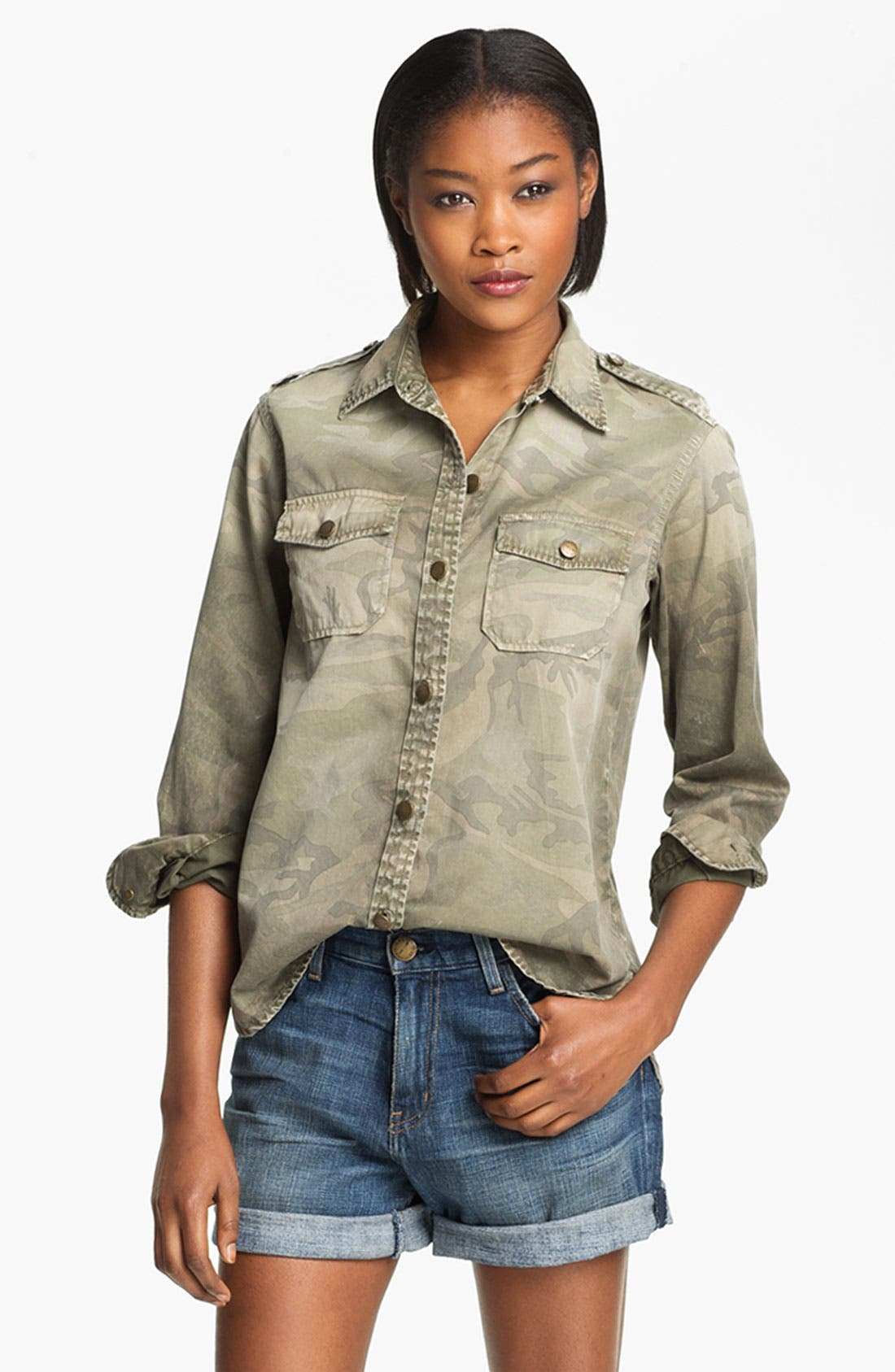 Main Image - Current/Elliott 'Perfect Shirt' Camo Shirt