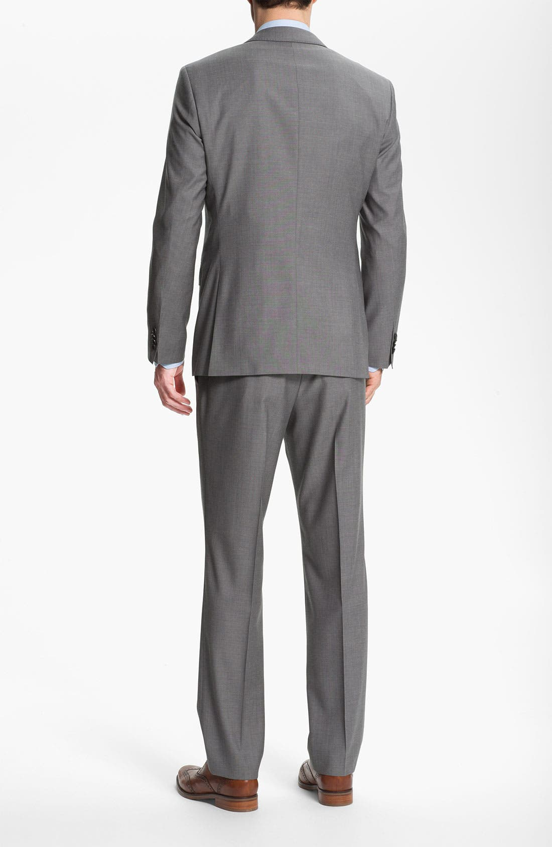 Alternate Image 2  - BOSS HUGO BOSS 'James/Sharp' Trim Fit Wool Suit