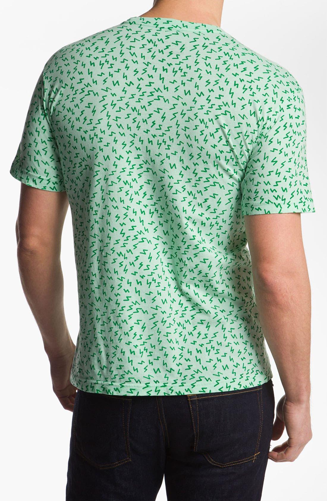 'Icon' T-Shirt,                             Alternate thumbnail 2, color,                             Seafoam