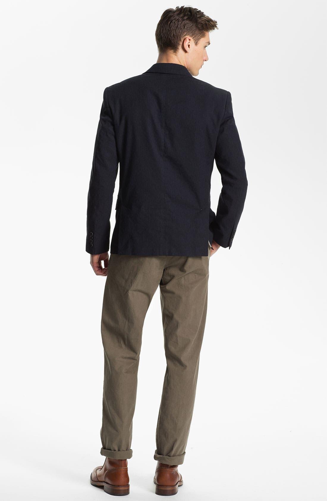 Alternate Image 5  - Billy Reid 'Lexington' Cotton & Linen Blazer