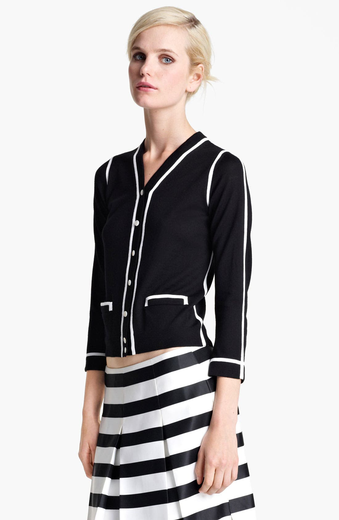 Alternate Image 2  - MARC JACOBS Contrast Trim Cardigan