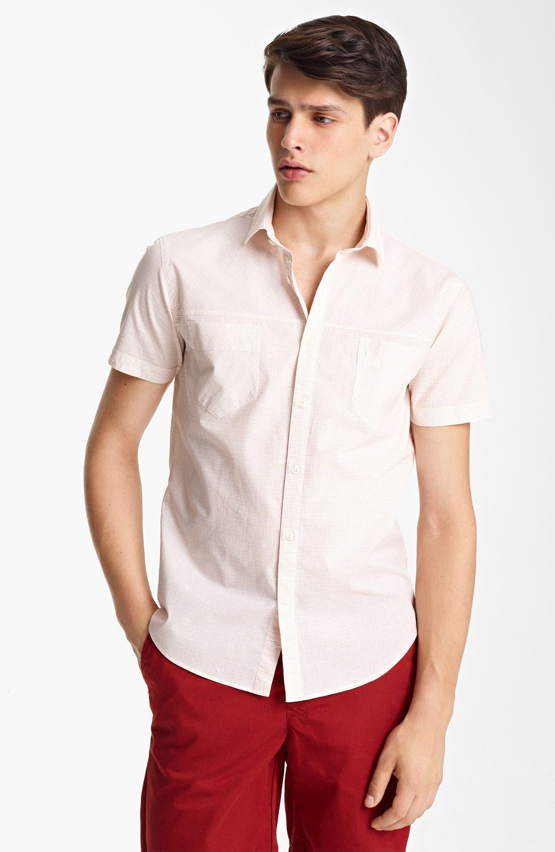 Alternate Image 1 Selected - Billy Reid 'Courtland' Woven Shirt