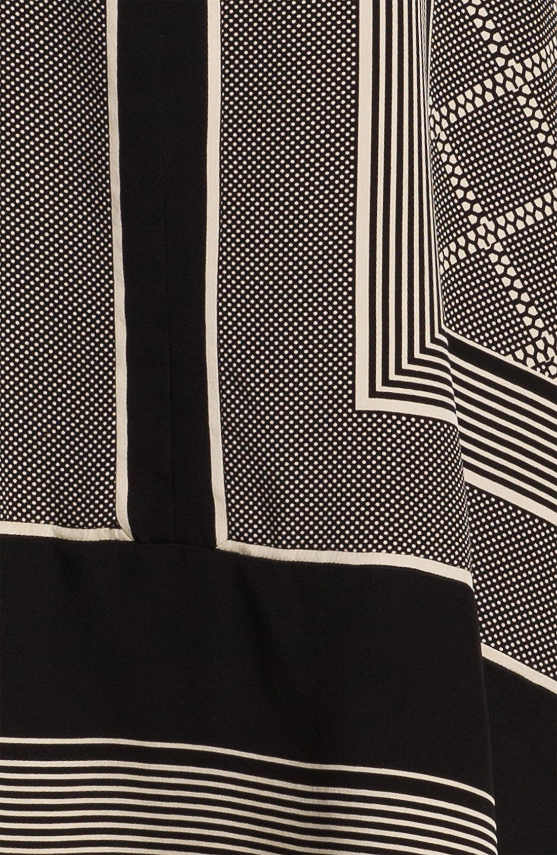 Alternate Image 3  - Vince Scarf Print Shift Dress