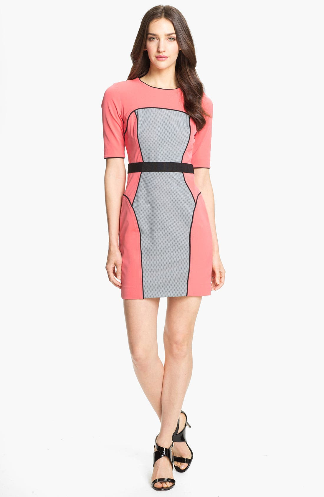Alternate Image 1 Selected - Milly Techno Sheath Dress
