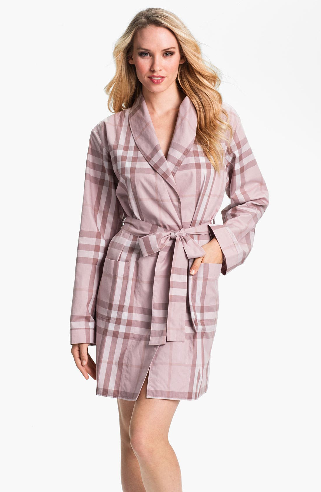 Main Image - Burberry Check Robe