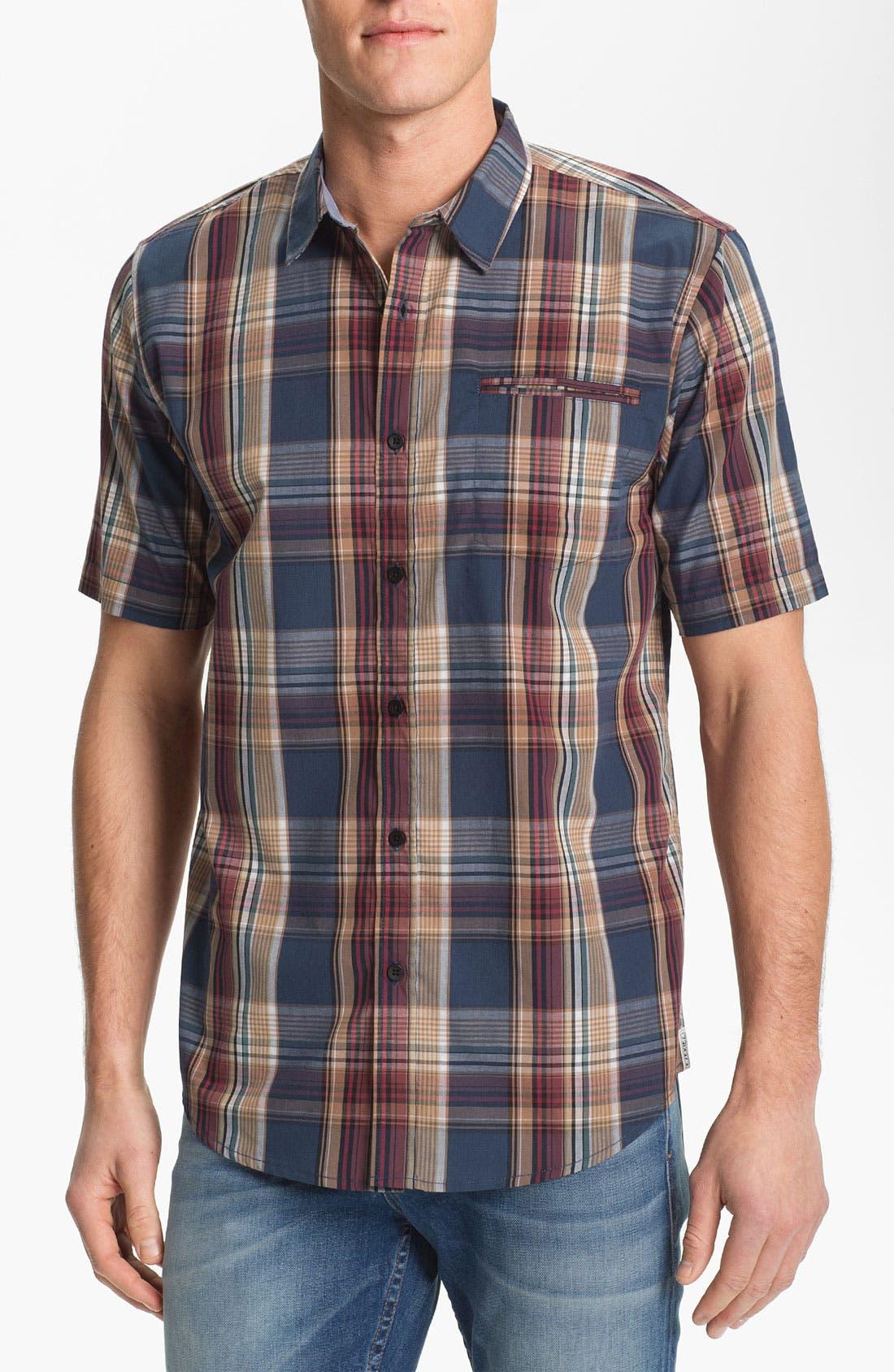 Main Image - Ezekiel 'Collins' Plaid Woven Shirt