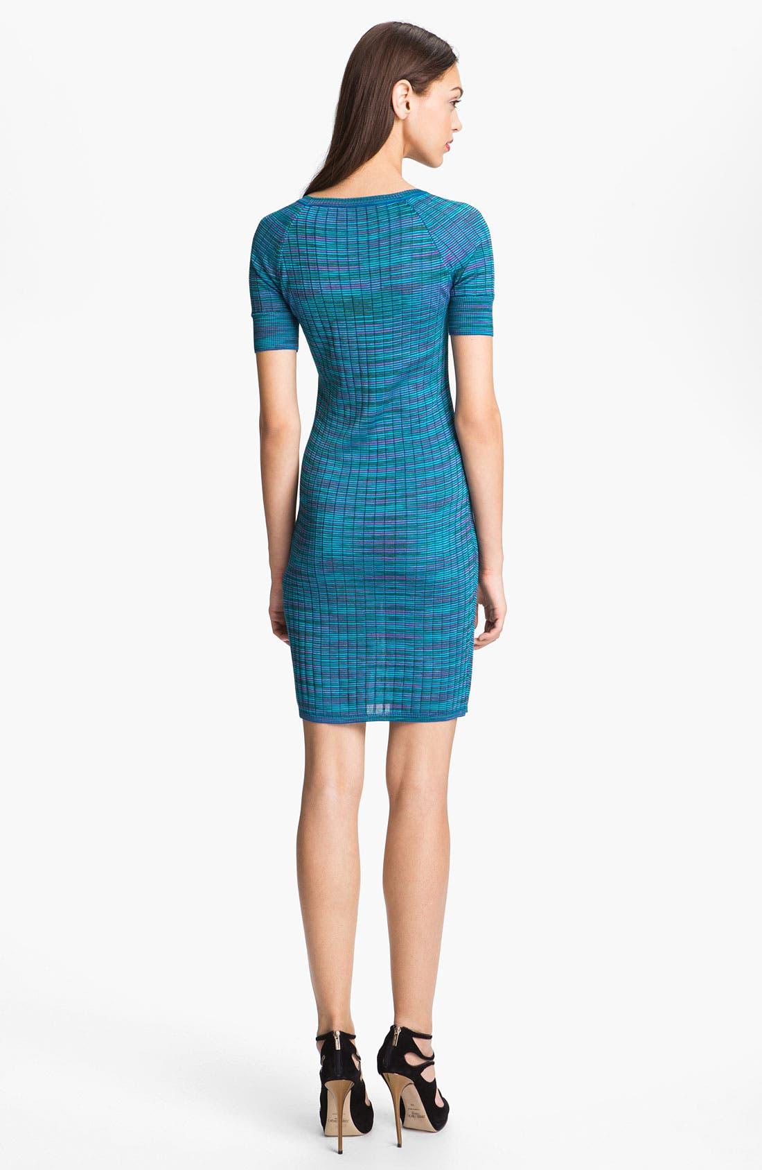 Alternate Image 2  - M Missoni Space Dye Ribbed Henley Dress