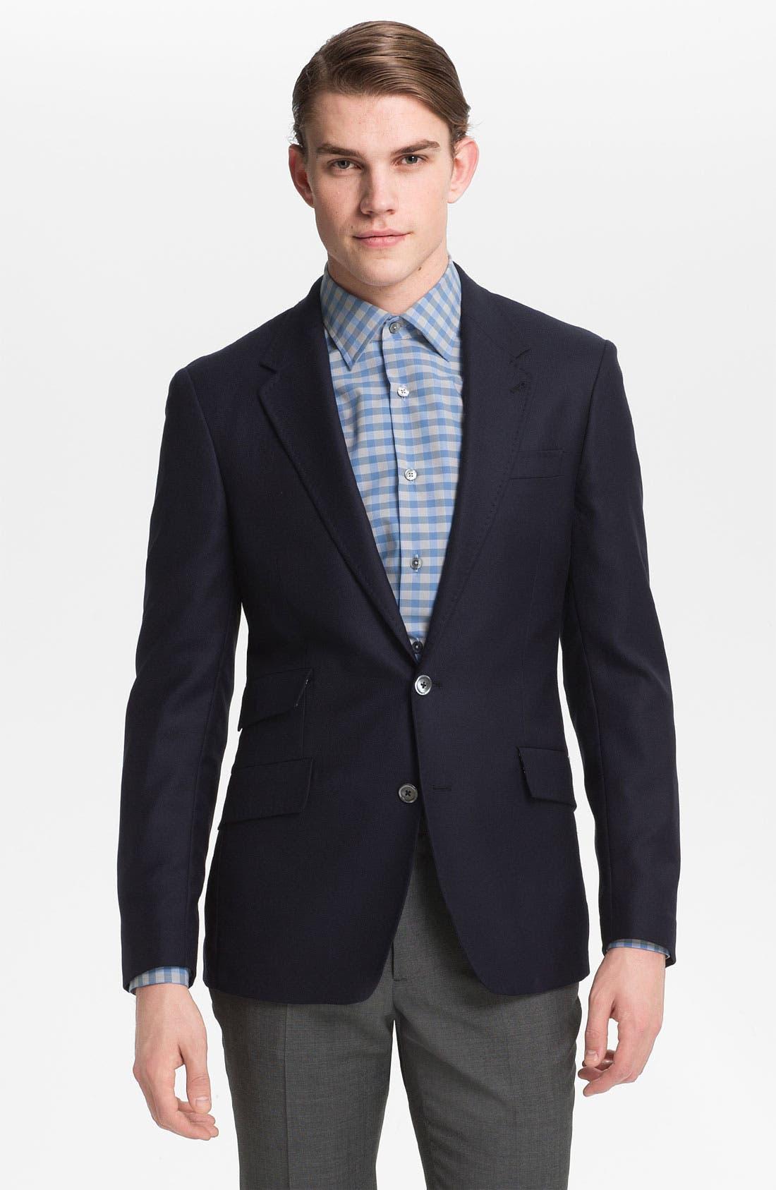 Main Image - Paul Smith London Trim Fit Sportcoat