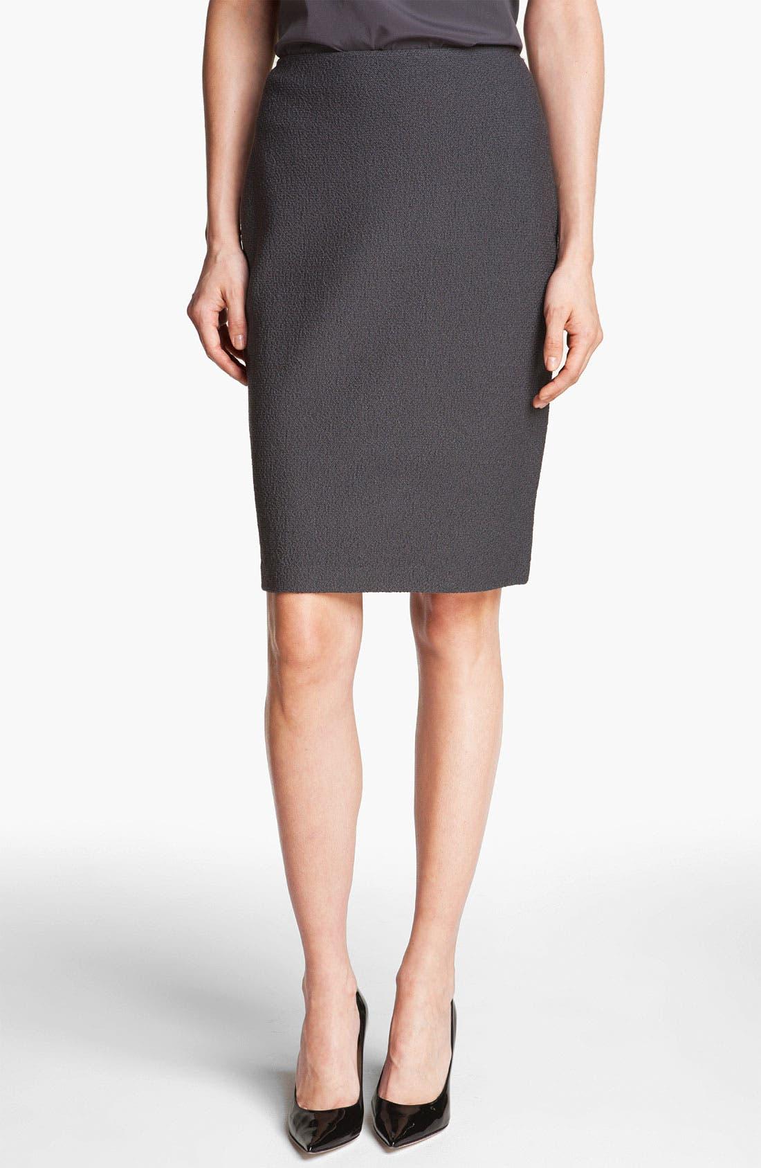 Alternate Image 1 Selected - St. John Collection Bouclé Knit Pencil Skirt