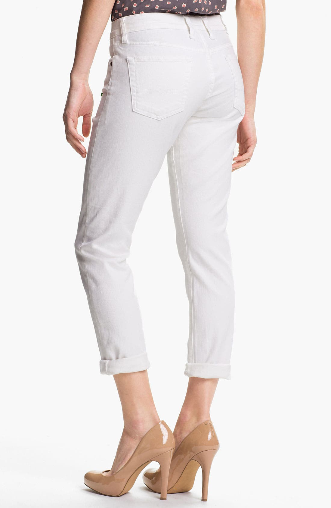 Alternate Image 2  - Lucky Brand 'Sienna' Tomboy Crop Jeans