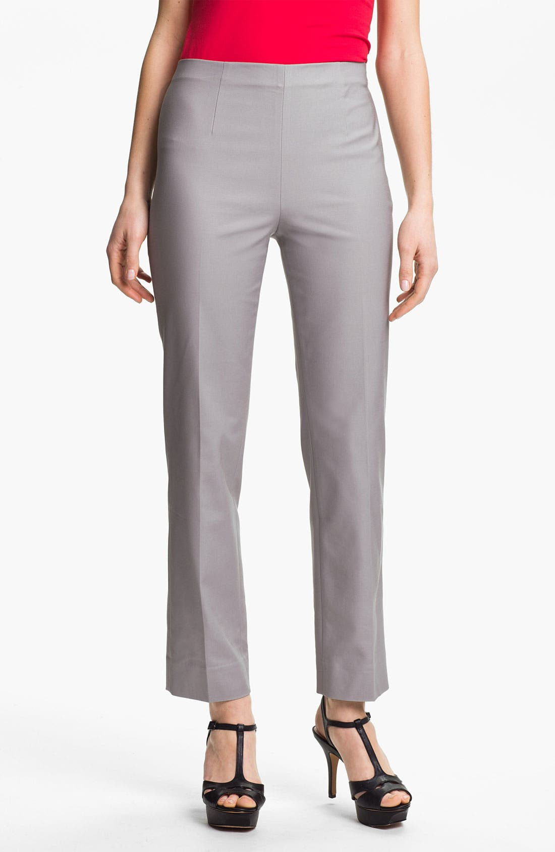Alternate Image 1 Selected - Nic + Zoe 'Perfect' Ankle Pants (Petite)