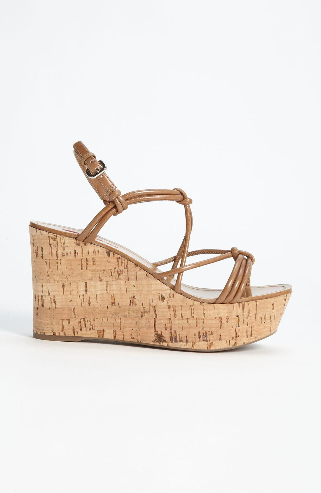 Alternate Image 4  - Prada Cork Wedge Sandal