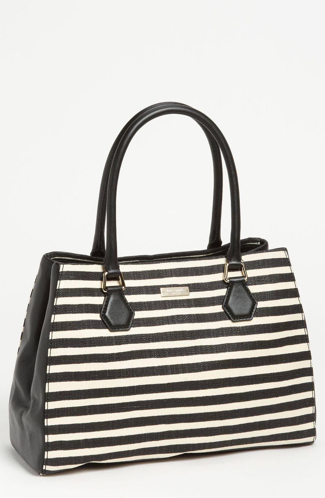 Main Image - kate spade new york 'catherine street - stripe louise' shoulder bag