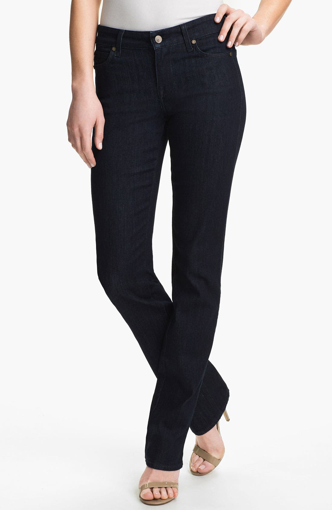Main Image - CJ by Cookie Johnson 'Faith' Straight Leg Stretch Jeans