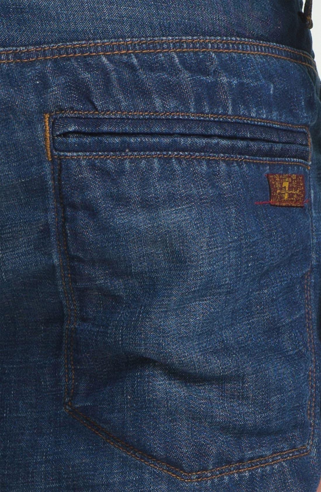 Alternate Image 3  - 7 For All Mankind® Cotton & Linen Denim Shorts