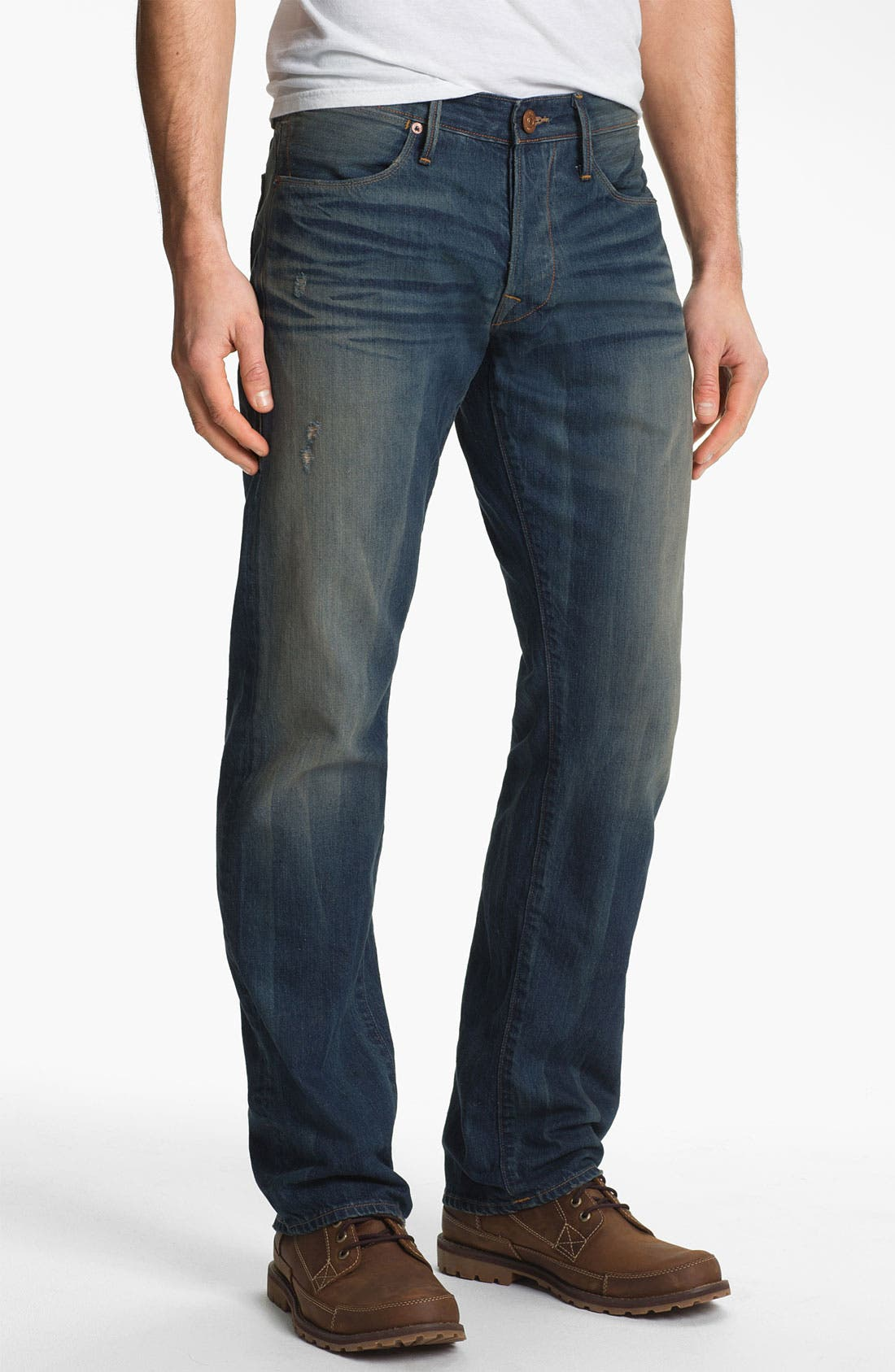 Alternate Image 2  - True Religion Brand Jeans 'Bobby 50s' Straight Leg Jeans (Deadwood)