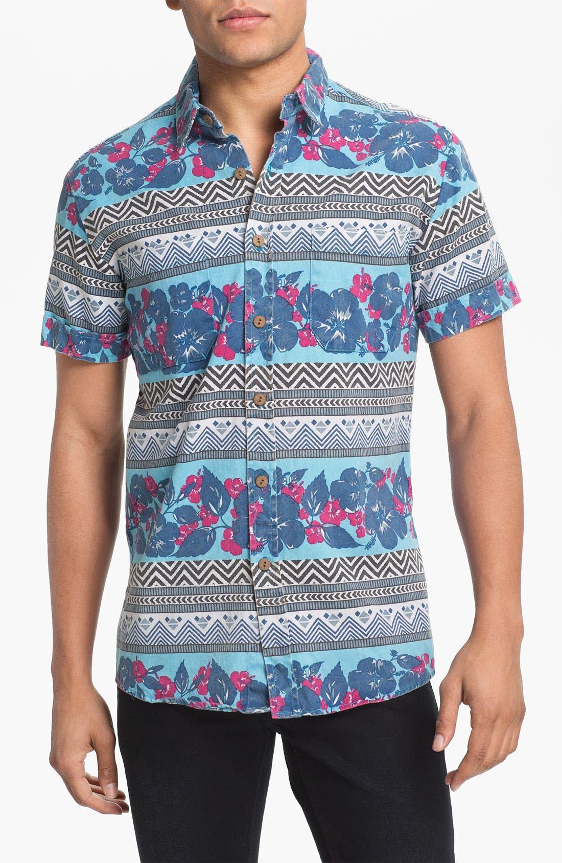 Alternate Image 1 Selected - Vanguard 'Tropical Pharaoh' Woven Shirt